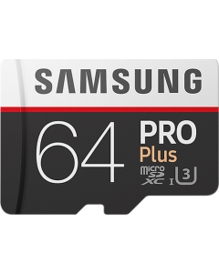 Pro + 64 GB micro SD class 10 - with adapter R100MBs/ W90