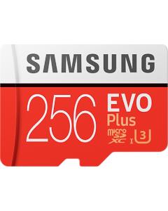 Evo + 256 GB micro SD class 10 - with adapter R100MBs/ W90