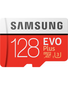 Evo + 128 GB micro SD class 10 - with adapter R100MBs/ W50