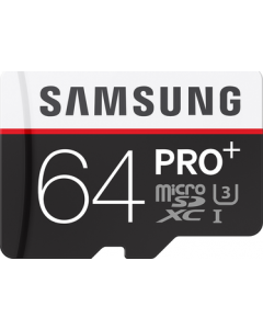 Pro + 64 GB micro SD class 10 with adapter
